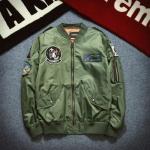 เสื้อแจ็คเก็ตแขนยาว EXO แต่งโลโก้ แนวกองทัพเรือ มี3สี