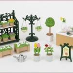 ซิลวาเนียน..ร้านดอกไม้ (JP) Sylvanian Families Flower Gardening Set