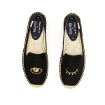 Soludos รุ่น Jason Polan for Soludos Collaboration - Wink Black Gold (Size 7US)