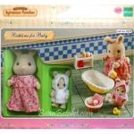 ซิลวาเนียน ชุดอาบน้ำเบบี้ Sylvanian Families Bathtime for Baby