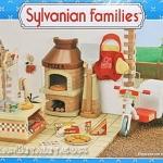 ซิลวาเนียนร้านพิซซ่า (EU) Sylvanian Families Pizza Parlour Set