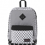 JanSport กระเป๋าเป้ รุ่น Super FX - Disney Minnie White Bow Dot