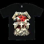 เสื้อยืด วง Metallica แขนสั้น แขนยาว S M L XL XXL [1]