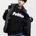 เสื้อแจ็คเก็ตแขนยาวเกาหลี VIXX พิมพ์ลาย Feltics มี2สี
