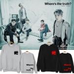 เสื้อแจ็คเก็ตแขนยาวเกาหลี FTISLAND พิมพ์ลาย Where's the truth มี7สี