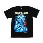 เสื้อยืด วง System of a Down แขนสั้น สกรีนเฉพาะด้านหน้า สั่งได้ทุกขนาด S-XXL [NTS]