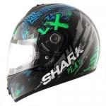SHARK S600 PINLOCK PLAY Black Green Blue
