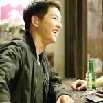 เสื้อแจ็คเก็ตแขนยาวเกาหลี สีดำ ซง จุง-กิ Descendants Of The Sun แนวเบสบอล