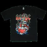 เสื้อยืด วง AC/DC แขนสั้น สกรีนเฉพาะด้านหน้า สั่งได้ทุกขนาด S-XXL [NTS]