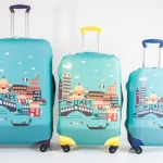 "Lugguage Cover - Italy Size M ( สำหรับกระเป๋าขนาด 24"" )"