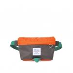 Hellolulu กระเป๋าเด็ก รุ่น ASTA - Olive Brown/Orange