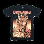 เสื้อยืด วง Disturbed แขนสั้น สกรีนเฉพาะด้านหน้า สั่งได้ทุกขนาด S-XXL [NTS]