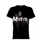เสื้อยืด วง Misfits แขนสั้น แขนยาว S M L XL XXL [6]