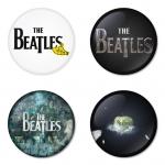 ของที่ระลึกวง The Beatles เลือกด้านหลังได้ 4 แบบ เข็มกลัด, แม่เหล็ก, กระจกพกพา หรือ พวงกุญแจที่เปิดขวด 1 แพ็ค 4 ชิ้น [9]