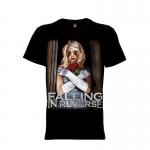 เสื้อยืด วง Falling In Reverse แขนสั้น แขนยาว S M L XL XXL [1]