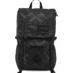 JanSport รุ่น Hatchet Spec Ed - Black Heat Embossed Ikat Squares