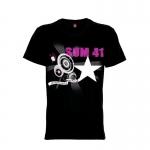 เสื้อยืด วง Sum 41 แขนสั้น แขนยาว S M L XL XXL [1]