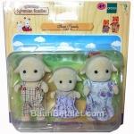 ครอบครัวซิลวาเนียนแกะ 3 ตัว Sylvanian Families Sheep Family Set