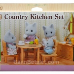 ซิลวาเนียน ชุดห้องครัวกับแม่แมว (EU) Sylvanian Families Country Kitchen Set