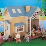 [หมดค่ะ] บ้านตุ๊กตาซิลวาเนียน..ริเวอร์ไซด์ล็อดจ์ (JP) Sylvanian Families Riverside Lodge V5%