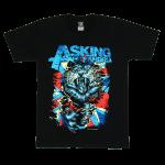เสื้อยืด วง Asking Alexandria แขนสั้น แขนยาว S M L XL XXL [3]