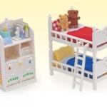 [SOLD OUT] ซิลวาเนียน..เฟอร์นิเจอร์ห้องนอนเด็ก (US) Calico Critters Children's Bedroom Set