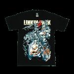 เสื้อยืด วง Linkin Park แขนสั้น สกรีนเฉพาะด้านหน้า สั่งได้ทุกขนาด S-XXL [NTS]