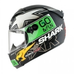 SHARK RACE-R PC REDDING DUAL T. Carbon Green Yellow