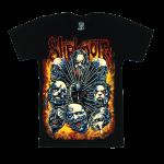 เสื้อยืด วง Slipknot แขนสั้น แขนยาว S M L XL XXL [3]