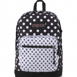 JanSport กระเป๋าเป้ รุ่น Right Pack - Disney Minnie Black Polka Dot