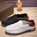รองเท้าแบรนด์เนม Gucci สีขาว ดำ ,งานhiend original สินค้านำเข้า เกรดดีสุดในท้องตลาด คัดสรรมาอย่างดี