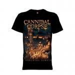 เสื้อยืด วง Cannibal Corpse แขนสั้น แขนยาว S M L XL XXL [5]
