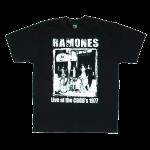 เสื้อยืด วง Ramones แขนสั้น งาน Vintage ลายไม่ชัด ทุกขนาด S-XXL [Easyriders]