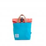 Hellolulu กระเป๋าเด็ก รุ่น JAZPER - Neon Orange/Light Blue
