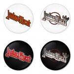 ของที่ระลึกวง Judas Priest เลือกด้านหลังได้ 4 แบบ เข็มกลัด, แม่เหล็ก, กระจกพกพา หรือ พวงกุญแจที่เปิดขวด 1 แพ็ค 4 ชิ้น [14]