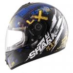 SHARK S600 PINLOCK PLAY Black Yellow Blue