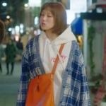 เสื้อฮู้ดกันหนาวคิมบ๊กจู พิมพ์ลายหน้าหลัง แต่งกระเป๋า มี3สี
