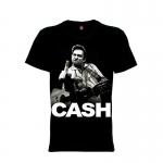 เสื้อยืด วง Johnny Cash แขนสั้น แขนยาว S M L XL XXL [1]