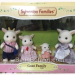 [Out of Stock] ครอบครัวซิลวาเนียน แพะ 4 ตัว Sylvanian Goat Family