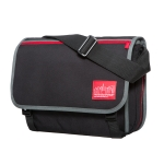 "Manhattan Portage 80'S Europa with back zipper and compartments ""LIMITED EDITION"" - Black"