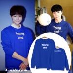 เสื้อแจ็คเก็ตแขนยาวเกาหลี INFINITE แต่งพิมพ์ลาย Young and มี5สี