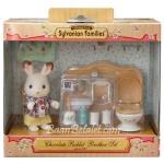 ซิลวาเนียน พี่ชายกระต่ายช็อคโกแลตกับห้องน้ำ (EU) Sylvanian Chocolate Rabbit Brother & Washroom