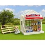 ร้านขายของที่ระลึกซิลวาเนียน (UK) Sylvanian Families Sylvanian Games Grandstand & Souvenir Shop