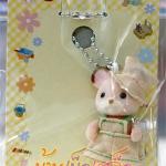 พวงกุญแจตุ๊กตาซิลวาเนียน-เบบี้หนู Sylvanian Family Corn Mouse Baby