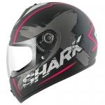 SHARK S600 PINLOCK EXIT Mat Black Antrac violet