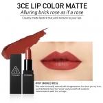( พร้อมส่ง ) 3CE MATTE LIP COLOR #909 Smoked Rose