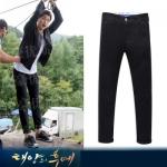 กางเกงขายาว ซง จุง-กิ Descendants Of The Sun ทรง Slim ขาเต่อ มี2สี