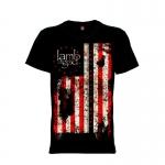 เสื้อยืด วง Lamb of God แขนสั้น แขนยาว S M L XL XXL [5]