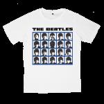 เสื้อยืด วง The Beatles สีขาว แขนสั้น S M L XL XXL [5]