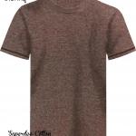 เสื้อยืดสีเลือดหมู เนื้อซุปเปอร์ดาย SuperDry Brown Round Neck Tshirt